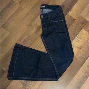 Dark Wash Wide Leg Hudson Jeans Size 28!
